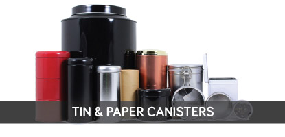 Tin & Paper Canisters