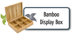 Bamboo Display Boxes