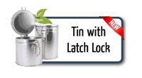 Tin with Latch Lock