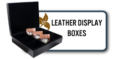 Leather Display Boxes