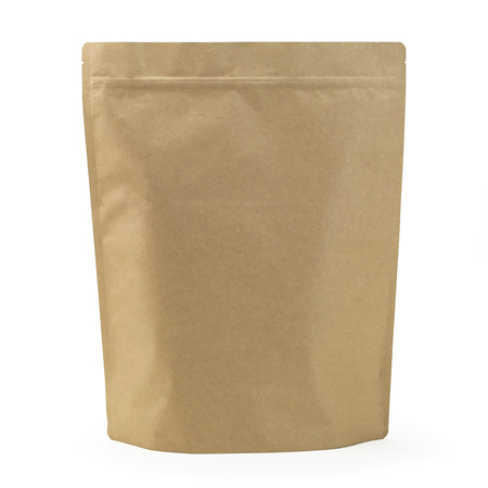 Sav On Bags >> 8 Lb Natural Kraft Stand Up Pouch