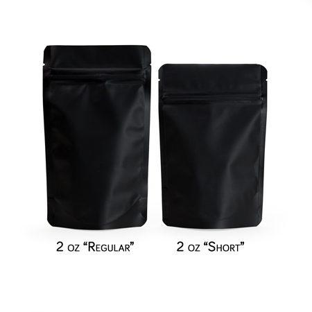 Sav On Bags >> 2 Oz Matte Stand Up Pouch