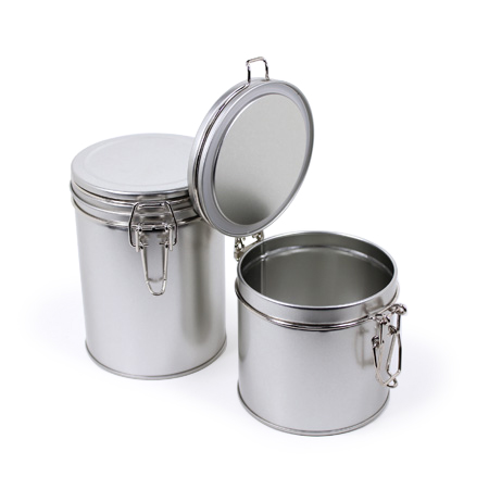 Sav On Bags >> 10 oz Latch Lock Tin | for Tea, Coffee, and more | Sav-on Bags
