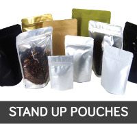 Sav On Bags >> Stand Up Pouches, Coffee Bags, Kraft Bags, Food Bags, Gusseted Bags, Tin Canister, Equipment ...