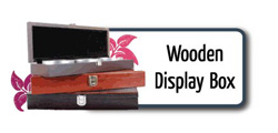 Wooden Display Boxes