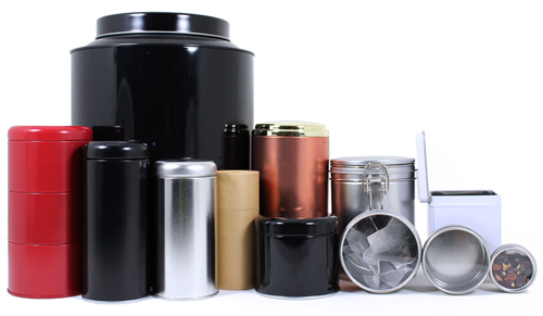 Tin & Paper Canisters from Sav-on Bags