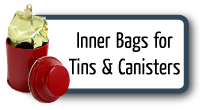 Inner Bags for Tins & Canisters