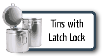 Latch Lock Tins