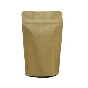 Sav On Bags >> 5 oz Kraft Stand Up Pouch - Natural Kraft food packaging | Sav-on Bags