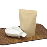 2 lb Natural Kraft Stand Up Pouch