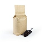 2 lb Natural Kraft Side Gusset Bag