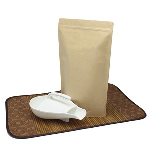 5 lb Natural Kraft Stand Up Pouch