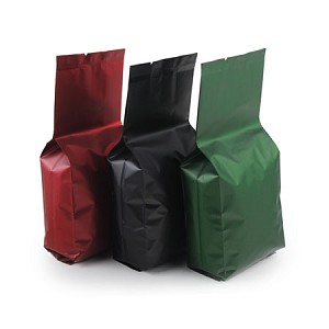 4 oz Matte Side Gusset Bag