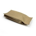 1 oz Natural Kraft Side Gusset Bag