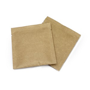 0.5 oz Natural Kraft Foil Flat Pouch