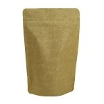 8 oz Kraft Stand Up Pouch