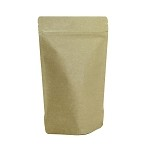 16 oz Natural Kraft Stand Up Pouch