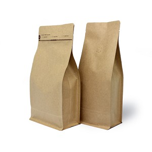 16 oz Natural Kraft Box Pouch