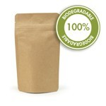 2 oz Biodegradable Kraft Stand Up Pouch