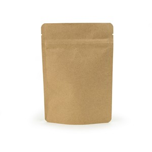 3 oz Biodegradable Kraft Stand Up Pouch