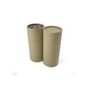 2 oz Kraft Paper Canisters