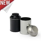 6 oz Cylinder Tin with Dome Lid