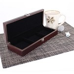 3 Slot Wooden Display Box - Chocolate