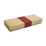 Paper Sleeve for Paper Gift Box - 3 Divider