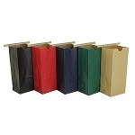 16 oz Colored Paper Tin Tie Bags (Poly liner)