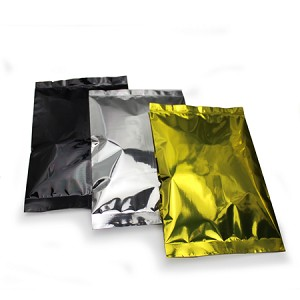 8 oz Metalized Foil Flat Pouch