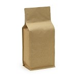1 kg Natural Kraft Box Pouch without Zipper