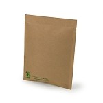 1 oz Biodegradable Kraft Flat Pouch