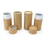 5 oz Kraft Paper Canisters