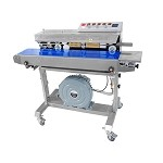 Horizontal Vacuuming Continuous Band Sealer with Solid Ink Printing - 1010 series