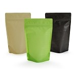 4 oz Rice Paper Stand Up Pouch